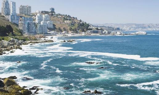 Viña del Mar es una costa mágica repleta de belleza