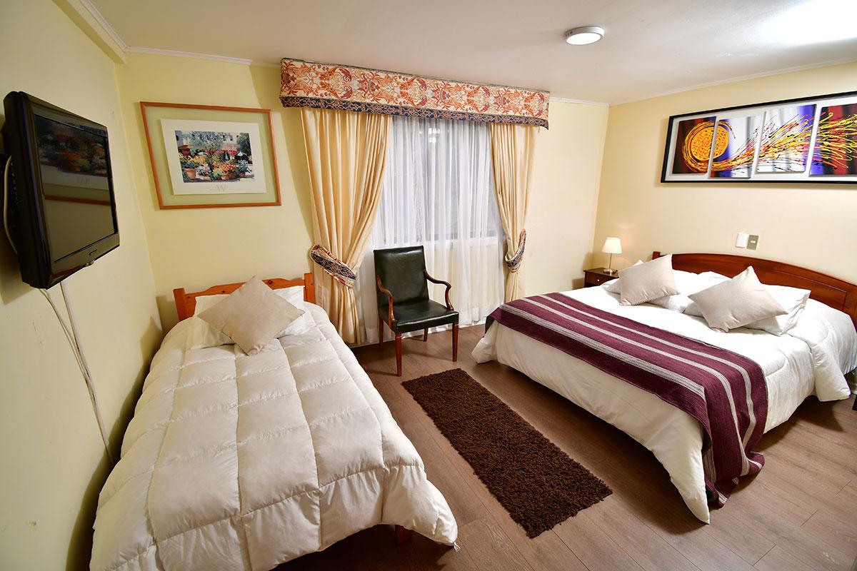 Vista Hermosa Hoteles - Habitación Triple